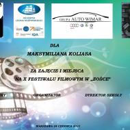 """Więcej o: X Festiwal Filmowy w """"Zośce"""""""